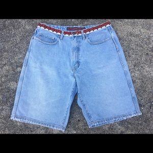 Vintage PEPE Denim Jeans London Shorts